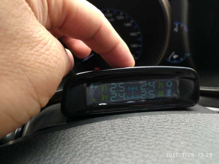 也酷(1stcool) 太阳能胎压监测器内置外置400胎温同测汽车轮胎检测仪无线TPMS TN400内置 晒单图