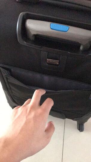 新秀丽拉杆箱万向轮行李箱男女商务旅行箱密码箱登机箱Samsonite BP0黑色20英寸 晒单图
