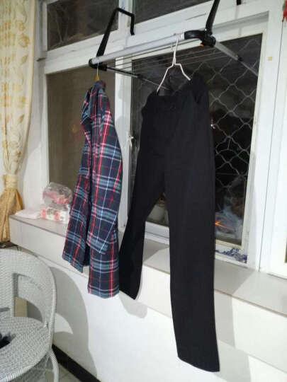 百露可折叠多功能晾晒衣架阳台浴室毛巾架窗台鞋架暖气栏杆晾衣挂 多功能晾衣架 晒单图