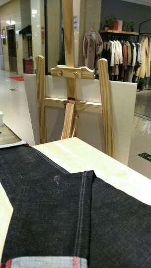 木质展架支架展示架海报架广告架子立式kt板展架广告架展板立牌实木画架美术画板素描折叠支架式 支架150cm 晒单图