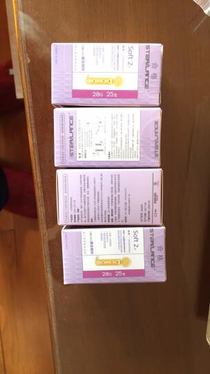 强生 (Johnson) 血糖仪家用稳豪型测糖仪倍易型稳豪试纸 机器银色+25片试纸+针头 晒单图
