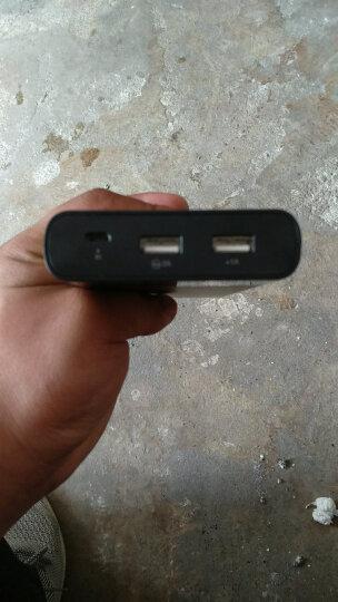 品胜(PISEN)20000毫安 移动电源/充电宝大容量 双USB输出 液晶数显 LCD电库二代 白色 适用于苹果/安卓 晒单图