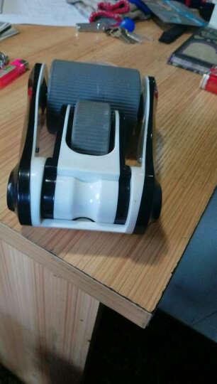 折叠健腹轮巨轮腹肌轮双轮滚轮体育用品健身器材瘦腹部家用便携 黑色 晒单图