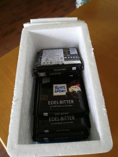 德国进口Ritter sport瑞特斯波德运动排块巧克力休闲零食小吃 多种口味 饼干坚果巧克力 100g 晒单图