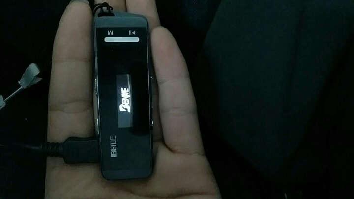 炳捷N9000 随身听mp3 学生 迷你有屏 运动便携mp3跑步 hifi无损音乐播放器 黑色8G 晒单图
