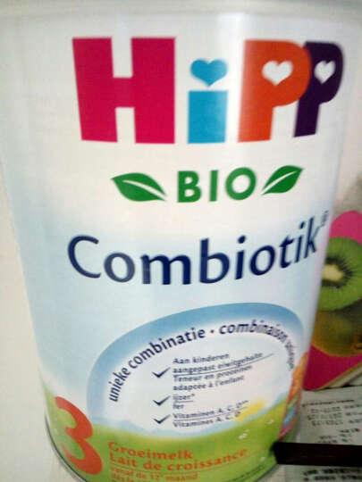 荷兰喜宝(HiPP)益生元系列 益生菌有机婴幼儿奶粉 3段(12月以上)900克 铁罐装 晒单图