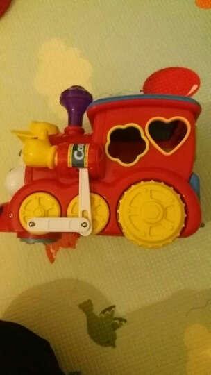 汇乐玩具(HUILE TOYS) 汽车玩具卡车工程车校园巴士全能救护车警车男孩女孩玩具 汇乐556智能问答卡通火车 晒单图