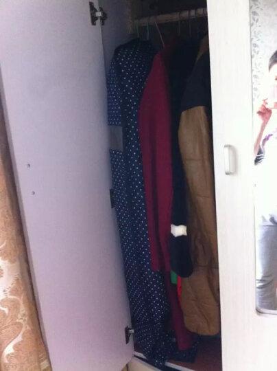 天纵防尘罩可水洗布艺大衣罩 可视西装套加厚衣物防尘套 抹茶绿 60*100 晒单图