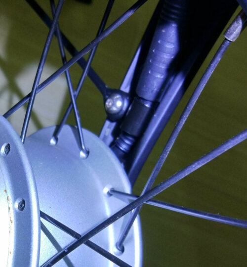 米家(MIJIA)小米 米家骑记自行车 电动车 智能电助力 力矩传感折叠自行车 电动自行车 黑色 晒单图
