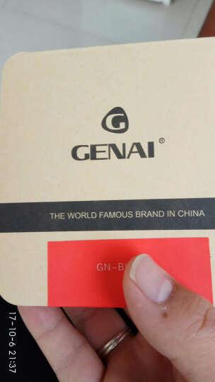 歌奈(genai) 迷你无线运动蓝牙耳机4.1 通用超小车载商务音乐耳机 黑色 晒单图