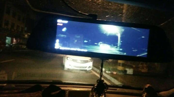 凌度 智能行车记录仪高清夜视双镜头前后录像倒车影像一体机 导航仪带电子狗后视云镜 8英寸标准版+前后双录倒车影像+16G(套餐一) 晒单图