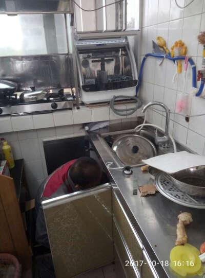 海尔(Haier)6套 小海贝青春版 进口变频电机 易安装 除菌消毒洗 活水台式家用洗碗机  HTAW50PPBECUTE 晒单图