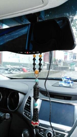 凌度蓝牙版后视镜行车记录仪7.0英寸超大蓝屏倒车影像前镜头大广角 标配+32G卡 奥迪A4L A6L Q5 Q3奔腾X80 B50 晒单图