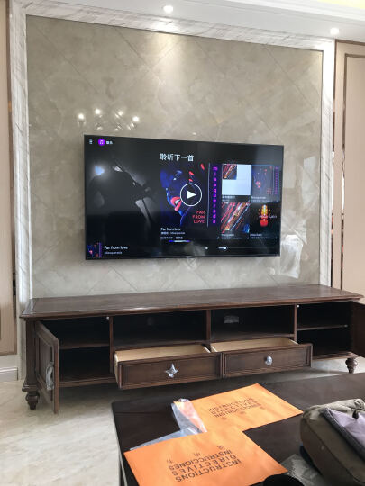 乐歌 (48-70英寸)电视挂架 电视机支架  旋转伸缩壁挂 电视架子 55/60寸小米创维夏普TCL海信等大部分通用 L7 晒单图
