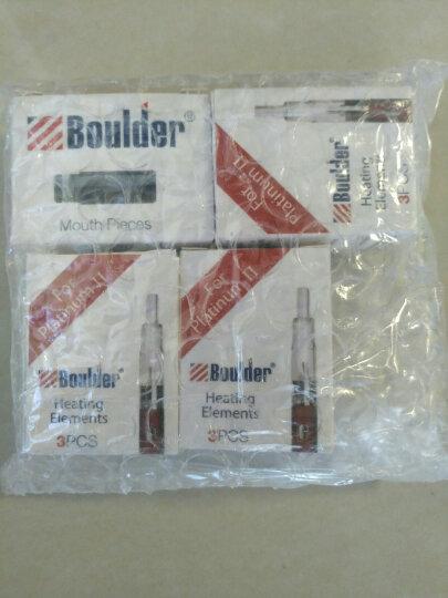Boulder铂德1原装雾化仓烟嘴 电子烟雾化器配件 铂德1号烟嘴一盒(三个) 晒单图