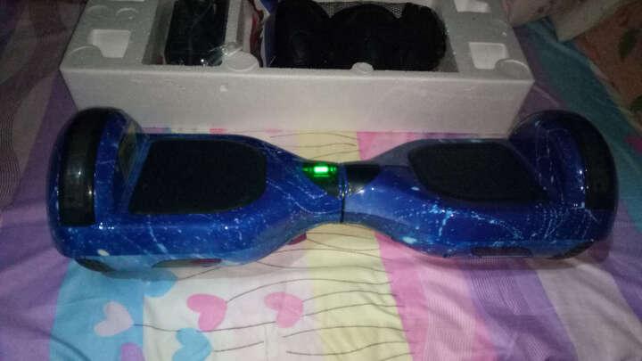 阿尔郎(AERLANG) 成人智能双轮电动平衡车代步体感车蓝牙平衡车儿童扭扭车两轮思维车 升级款(APP控制+炫彩灯+自平衡)迷彩蓝 晒单图