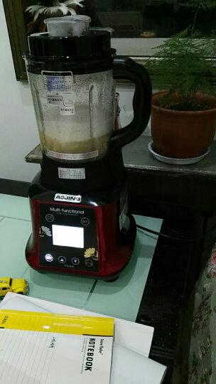 奥劲(AOJING) 德国加热破壁料理机家用破壁机多功能搅拌机 金色 晒单图