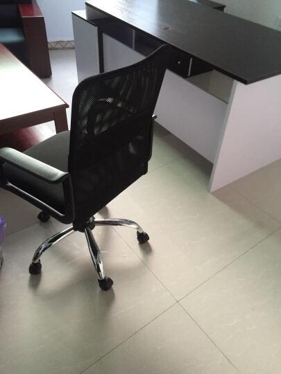 伯力斯(BECAUSES)电脑椅 家用 办公椅子网布职员转椅 MD-088 黑色 晒单图