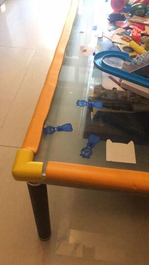 序言(XUYAN) U型加厚儿童防撞条玻璃茶几防护条安全防撞贴玻璃门防撞条 U型条-橘黄 长2米U形  送4米胶带 晒单图