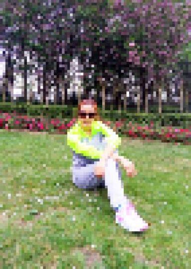 鸿星尔克跑步鞋运动鞋韩版减震慢跑鞋白色旅游鞋 正白/蝴蝶紫 39 晒单图