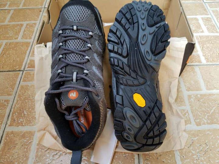 迈乐(Merrell) MERRELL迈乐 Moab男鞋轻装徒步登山鞋户外透气运动避震 深杏 44 晒单图