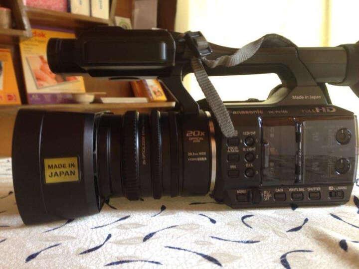 松下(Panasonic)HC-PV100GK 高清数码摄像机/高清DV 官方标配 晒单图
