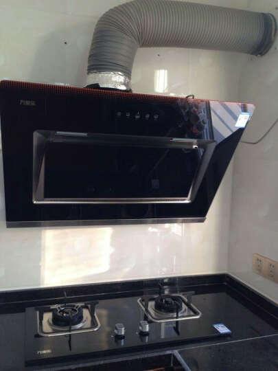 万家乐侧吸式抽油烟机 台嵌燃气灶具 100L消毒碗柜 烟灶消套餐 A390+K461B+D863 20Y液化气 晒单图