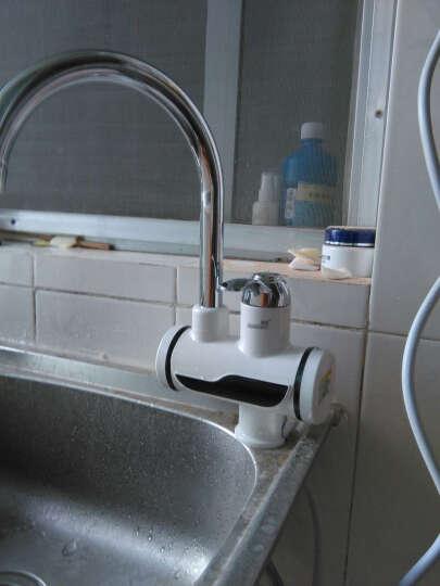 优博(EUROBLAST) 速热电热水龙头 加热器 厨房小厨宝即热式电热水器 厨房热水宝 7D下进水+2000W电吹风 晒单图