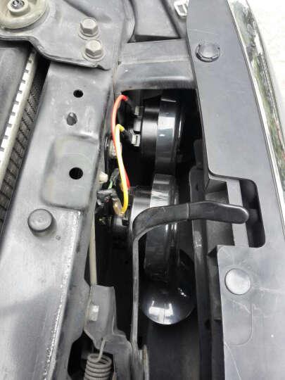 锐立普汽车喇叭摩托车喇叭12V改装高低音蜗牛喇叭电动车超响防水鸣笛喇叭 蜗牛喇叭CB-125高低双音(一对)12V 晒单图