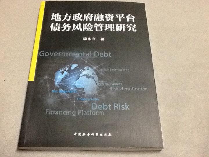 地方政府融资平台债务风险管理研究 晒单图