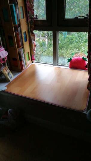 古达碳晶地暖垫移动电热垫坐垫地暖毯地热毯发热地垫暖脚垫电热地毯地板 卡通紫 200*100cm 晒单图
