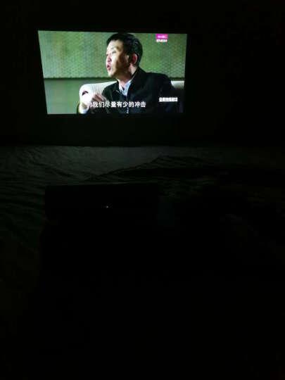 坚果P2投影仪 家用迷你高清办公小型会议移动便携式投影机3D智能无线wifi微型影院家庭电视手机同屏 【全新配色勃艮第红】惊艳上市! 晒单图