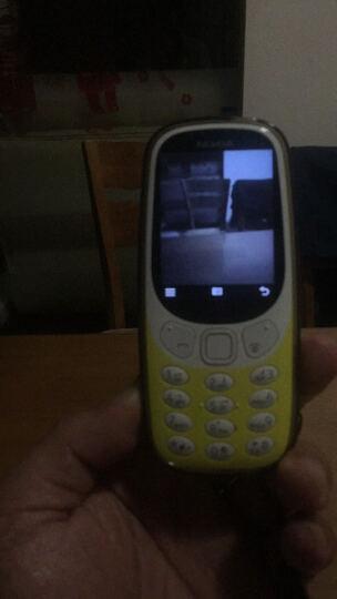 诺基亚(NOKIA)3310 红色 直板按键 移动联通2G手机 双卡双待 时尚手机 经典复刻 学生备用功能机 晒单图