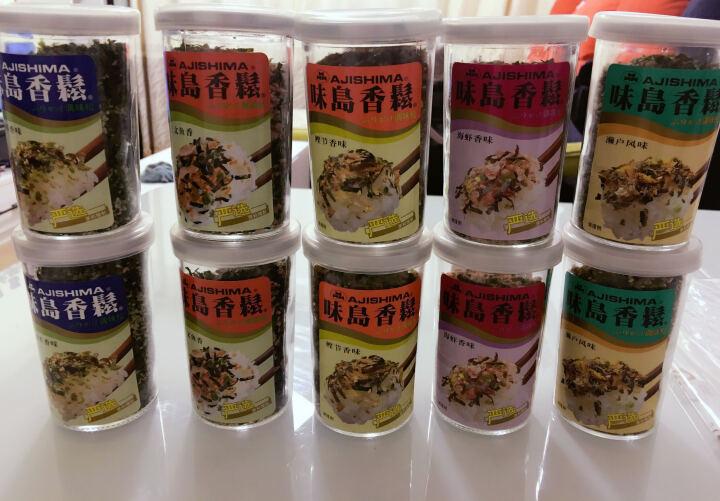 味岛香松 日式料理调味香味松拌面拌饭寿司饭团香松粉 5种口味各一瓶(海虾、濑户、三文鱼、海苔、鲣节) 52g/罐 晒单图