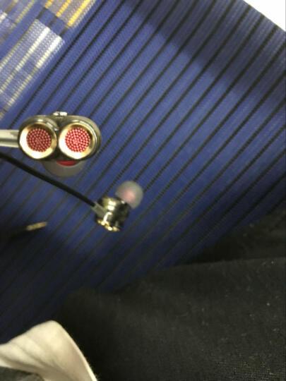 epcbook双动圈喇叭适用于OPPO苹果vivo华为手机通用耳机入耳式重低音线控耳塞潮 透明黑【四核双单元】 晒单图