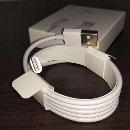 ZMI(紫米)Type-C充电器线/数据线/编织线 适用乐视1s/小米4c/小米5/魅族Pro5配件/苹果Macbook AL411红30厘米 晒单图