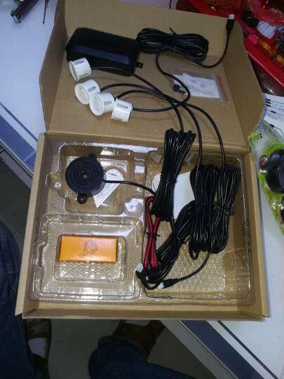 车美美 倒车雷达影像一体双核真人语音倒车雷达4探头1年包换 A86 带LCD显示器8探头语音版 晒单图