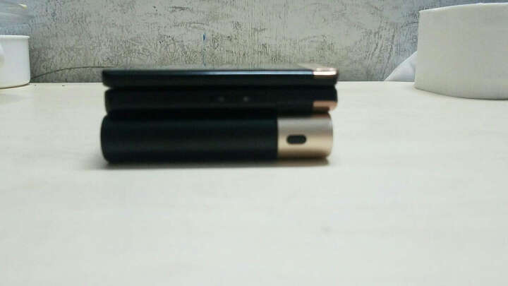 台电 T100CK-G 双向快充兼容QC3.0 卡片大小全金属 LG电芯10000毫安 充电宝/移动电源 支持Type-c/安卓双输入 晒单图
