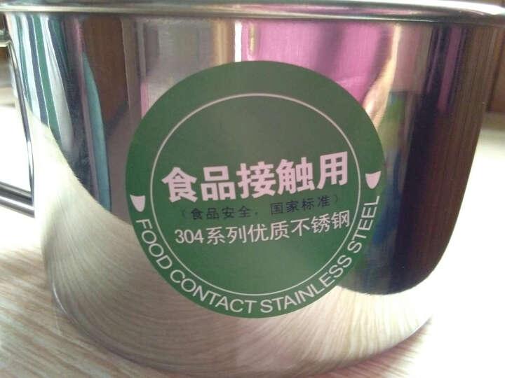顺达(SND) 304不锈钢饭盒双层快餐杯多格层学生创意可爱便当盒分格餐盒 SDD-5113   13CM赠送勺筷 晒单图