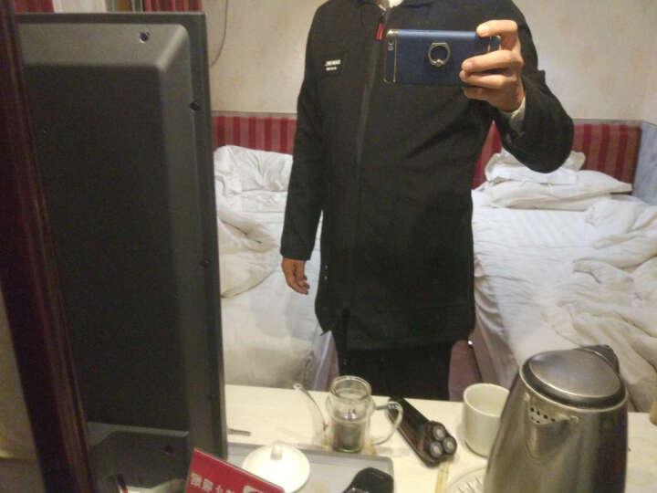 爱洛斯汀堡风衣男春装港风中长款服大衣韩版修身头号青年潮流男士连帽薄款外套衣服男装 764浅绿色 3XL(建议体重170-180斤) 晒单图