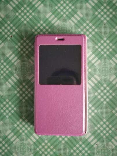 华浪 单开手机保护套/手机壳/皮套 适用于小米手机红米3高配版/增强版/指纹版/3S 白色 晒单图