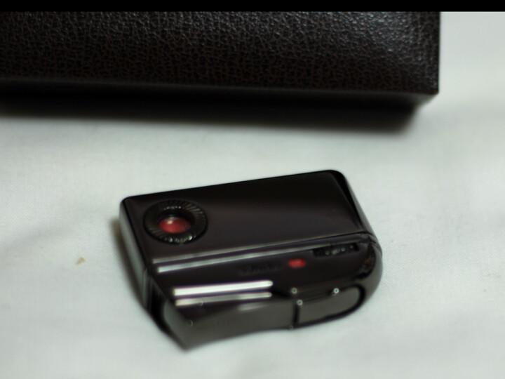 王子PRINCE打火机黑色镜面镀铬DN-5501气体火石机 晒单图