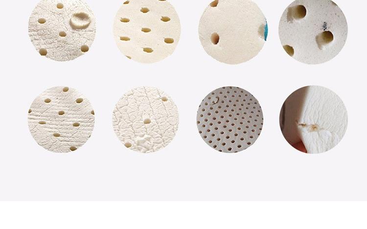 邓禄普Dunlopillo ECO蝶型按摩枕 斯里兰卡进口天然乳胶枕头 颗粒按摩 呵护颈椎枕  天然乳胶含量96%