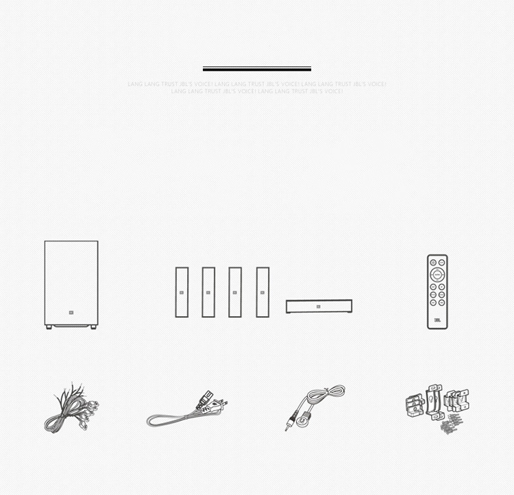 JBL CINEMA 325 音响 音箱 5.1声道 家庭影院 蓝牙 壁挂 内置集成一体式 功放 电视音响 电脑音响-京东