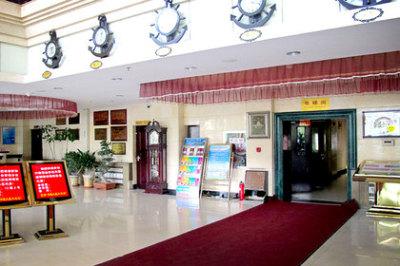 可在前台预约推迟到14点退房 酒店由青海青藏大厦有限公司投资兴图片