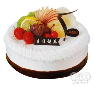资溪8寸蛋糕一个 京品惠绍兴站图片 26196 400x372