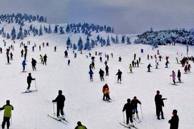 安吉江南天池滑雪 2小时图片