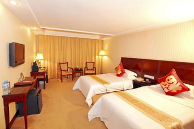 尊享维也纳酒店 桂林中山店 豪华间1晚 免费宽带 更多优惠 酒店座落在图片