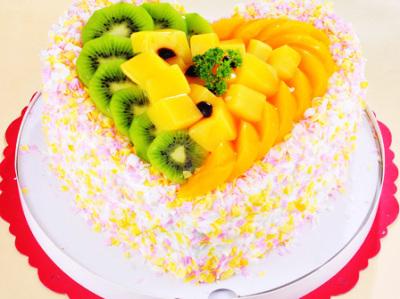 238元好味佳蛋糕店冰激凌蛋糕 水果蛋糕1个 -好味佳蛋糕店冰激凌蛋