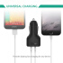 Car Charger, AUKEY 24W/4.8A 2-Port USB Car Charger for iPhone 6S, 6, 6 Plus, iPad Air 2, mini 3, Galaxy S6, S6 Edge, Edge+, Note 5 and more - Black